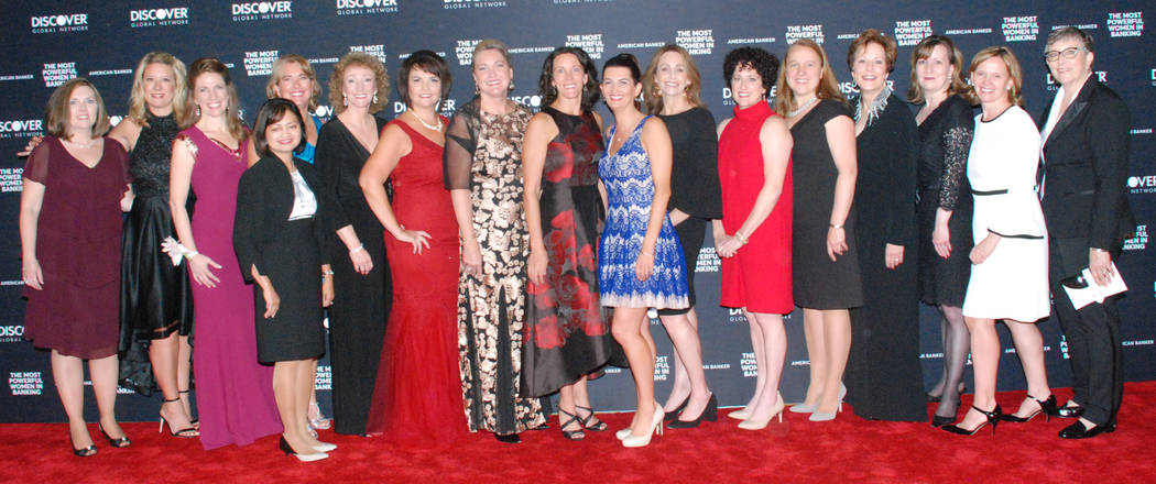 Shannon Petersen, Debby Herman and 25 other Zions Bancorporation colleagues were among the nation's award-winning executives honored at an awards ceremony hosted by American Banker magazine on O ...
