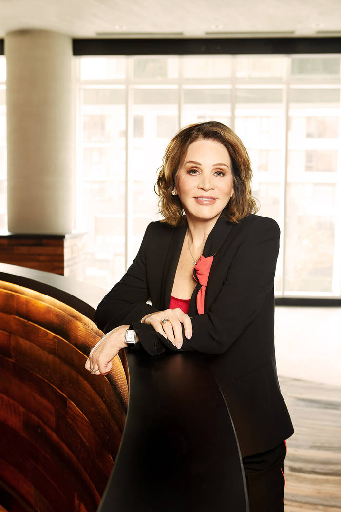 Diana Bennett, a casino management luminary and renowned philanthropist, was inducted into the Gaming Hall of Fame's Class of 2017. (Courtesy)