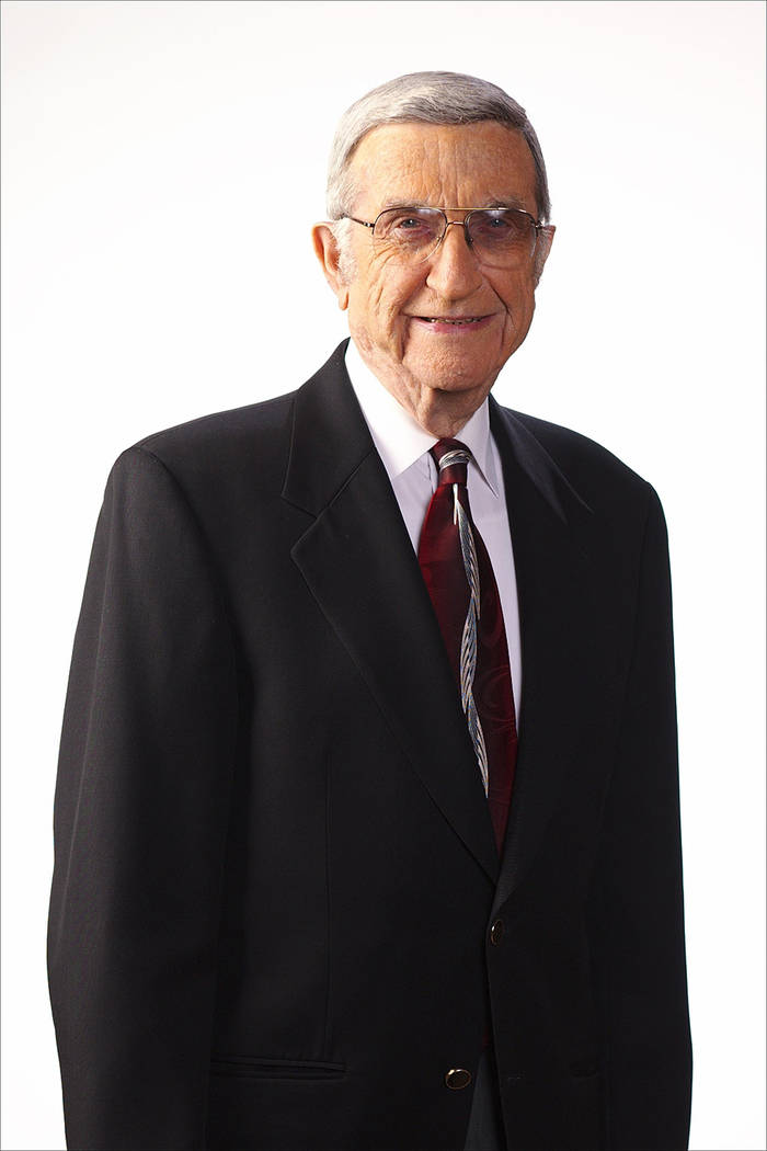 The American Gaming Association inducted Melvin B. Wolzinger, a prominent Nevada businessman and Las Vegas community leader, into the Gaming Hall of Fame's Class of 2017. (Courtesy)