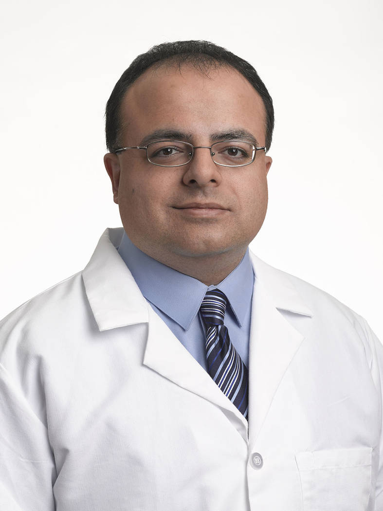 Dr. Faegh Aderangi, MD joins Southwest Medical's Siena Health Care Center (2845 Siena Heights Drive) and specializes in adult medicine.