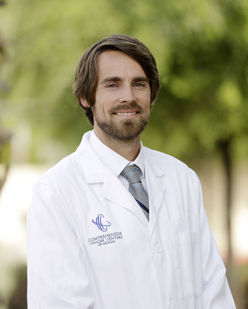 Christopher Gabler, physician assistant, Comprehensive Cancer Centers of Nevada