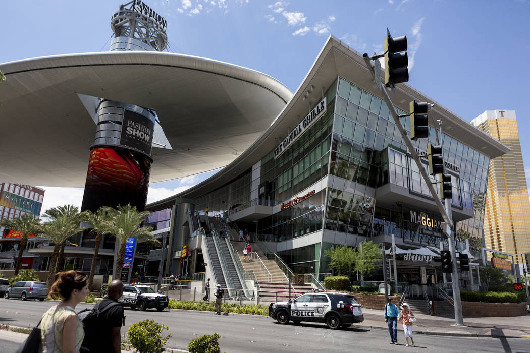 GGP Inc., owner of the Fashion Show Mall and other retail malls in Las Vegas, is considering a $14.8 billion bid from Brookfield Property Partners. Brookfield already owns 34 percent of GGP's shar ...