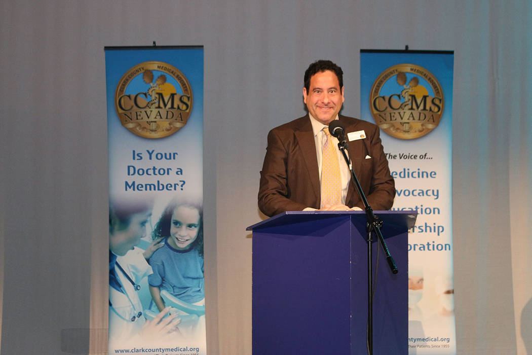 Dr. Joseph Adashek, Clark County Medical Society president (Clark County Medical Society)