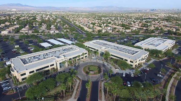 Three office buildings totaling 172,469 square feet that comprise the Green Valley Corporate Center-North complex in Henderson were sold recently. The assets, which consisted of Plaza 8, 9 and 10, ...
