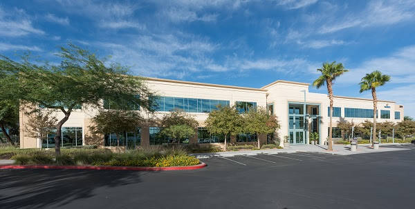 Sold as a single asset of 54,365-square-foot Plaza 8 was acquired by real estate investment firm JMA Ventures for a price of $13.15 million or $242 per square foot. (Courtesy)