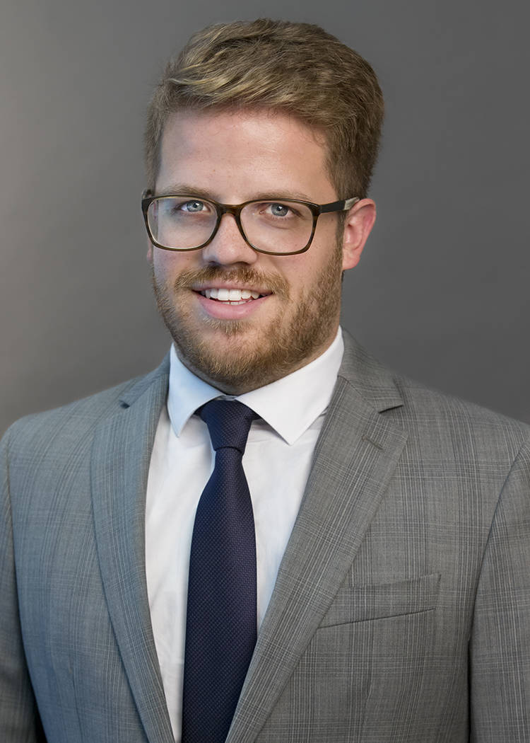 Evan Hall, associate, Snell & Wilmer
