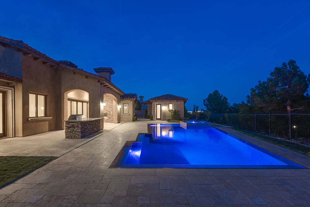 This home in Southern Highlands offers a pool. (Shapiro & Sher Group)