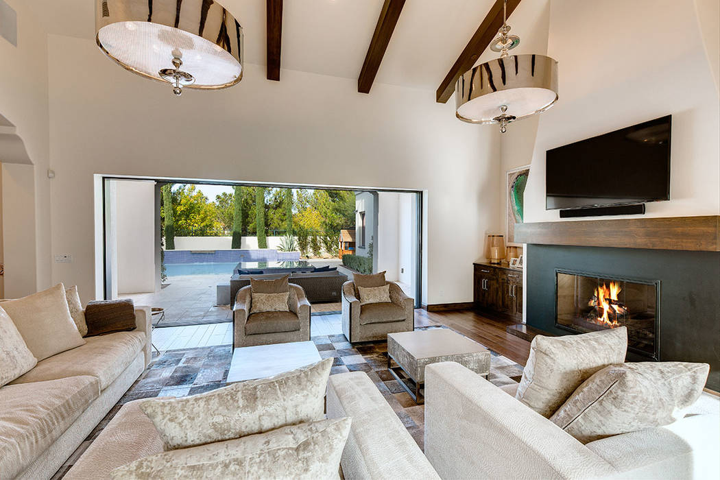 This home in Southern Highlands features pocket doors that provide indoor-outdoor living. (Shapiro & Sher Group)
