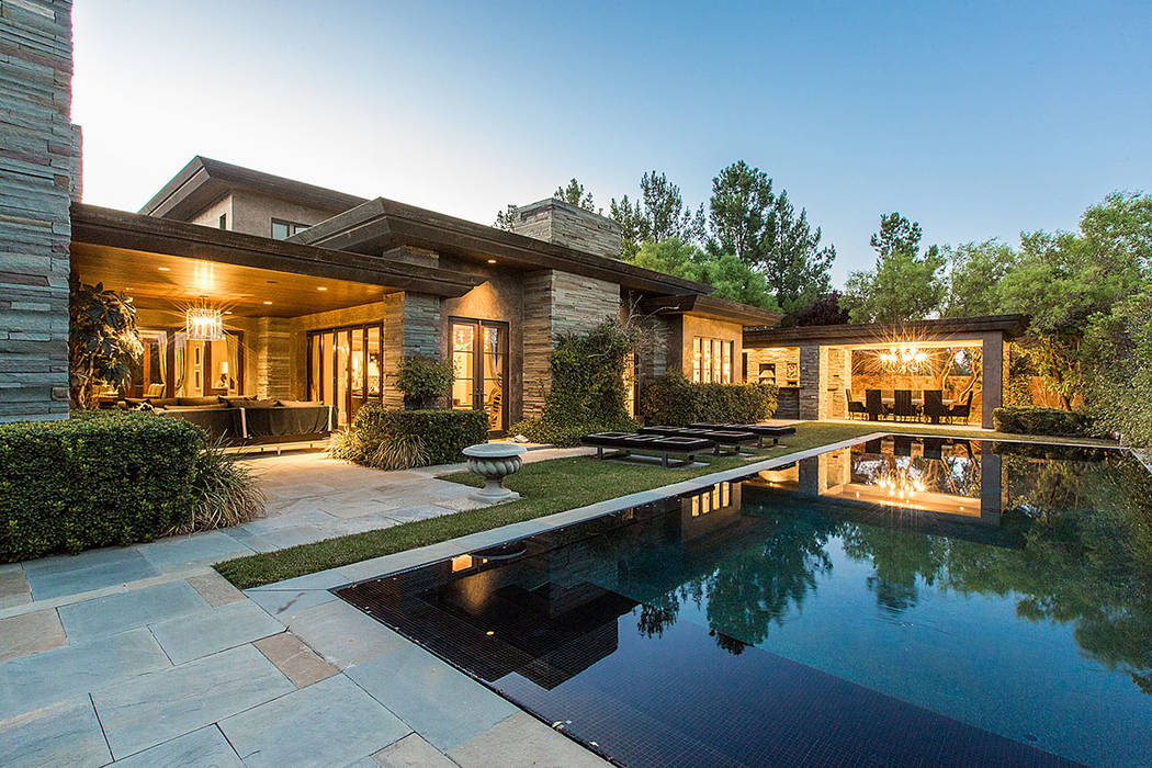 This home in The Ridges is listed at $4.25 million. (Shapiro & Sher Group)