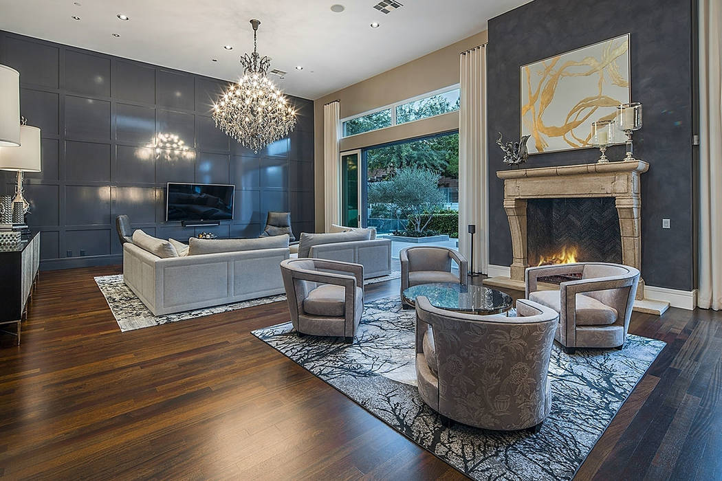 A living area opens to the outdoors. (Shapiro & Sher Group)