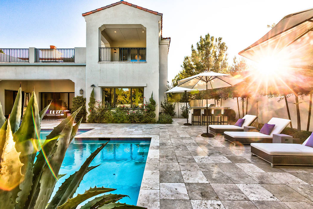This home in Southern Highlands has a backyard designed for entertaining. (Shapiro & Sher Group)