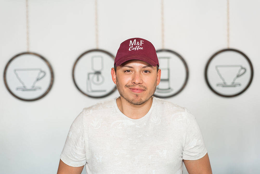 Josh Molina, director of operations, Makers & Finders Coffee