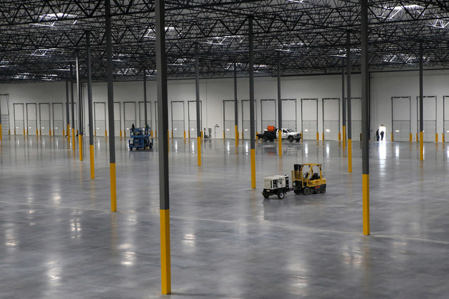 Bed Bath & Beyond moved a warehouse operation into an industrial center earlier this year. (Christian K. Lee/Las Vegas Business Press)
