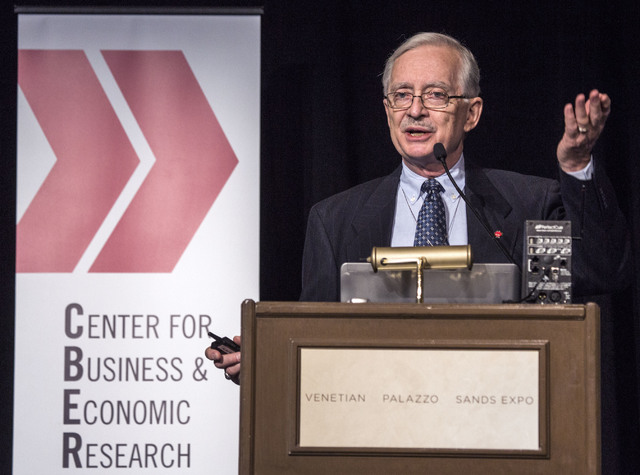 Dr. Stephen M. Miller, CBER director and professor of economics. (Las Vegas Review-Journal File Photo)