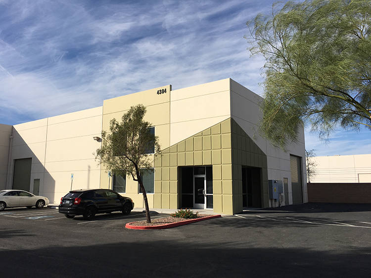 Quality Stone LLC leased a 5,213-square-foot industrial property is at 4304 E. Alexander Road. (Courtesy)