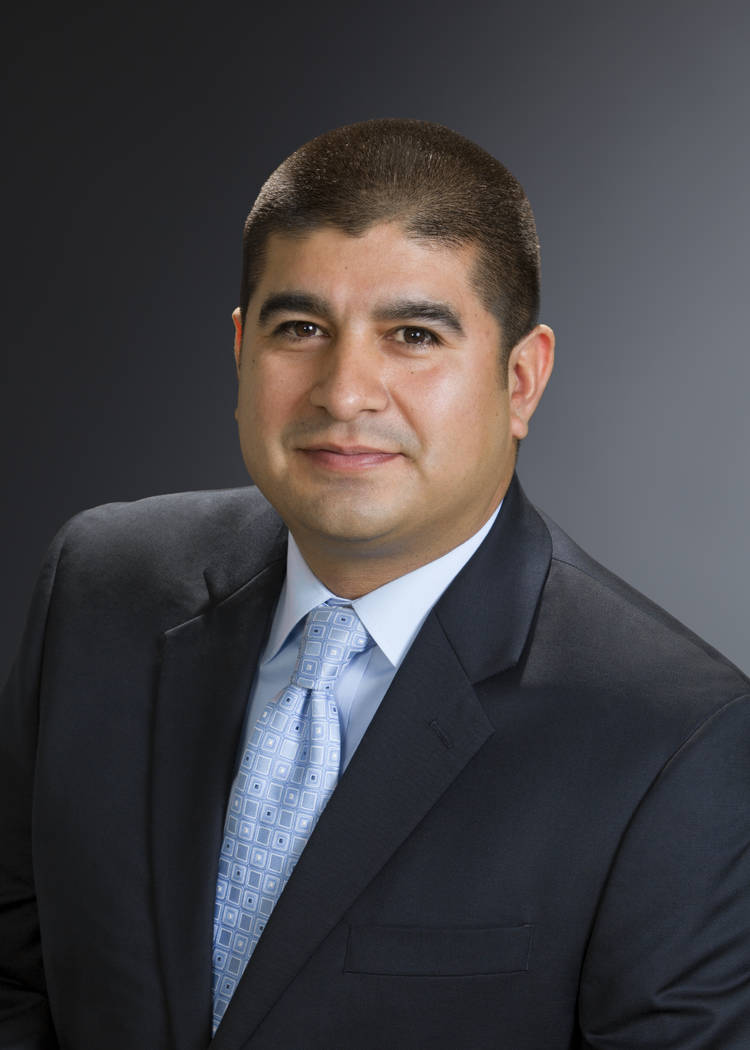 Lester Romero, small business manager, Wells Fargo in Southern Nevada