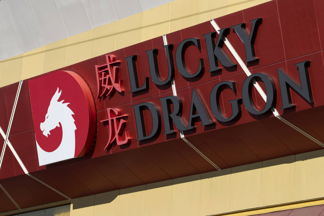 The Lucky Dragon on the north Strip has closed its casino and restaurants operations. (Erik Verduzco Las Vegas Business Press)