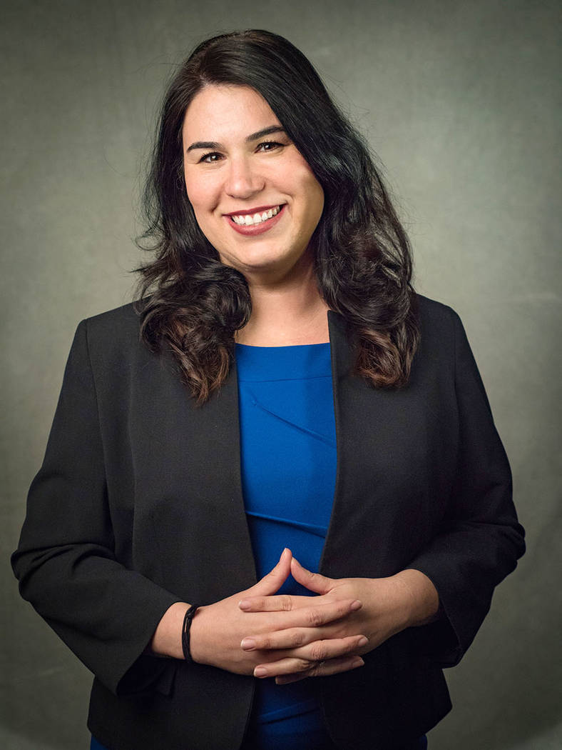Amber Lopez Lasater, chief of staff, Nevada State College
