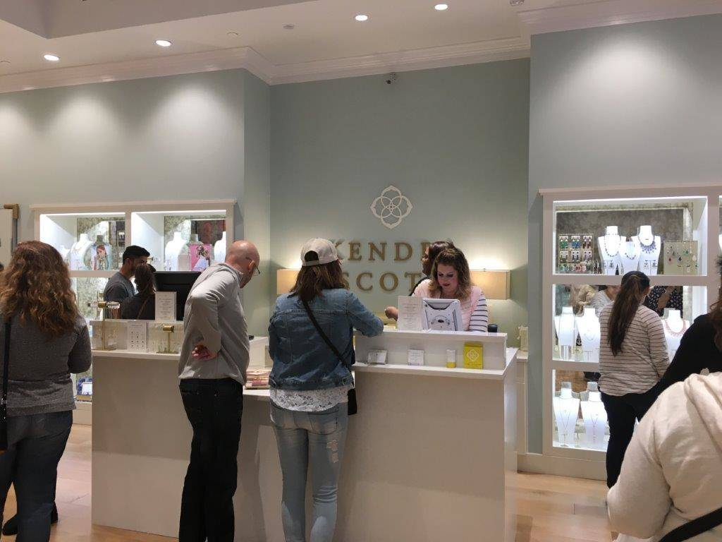 Olive Crests' Feb. 11. fundraiser featured a special shopping experience at Kendra Scott in the Fashion Show Mall. (Olive Crest in Nevada)