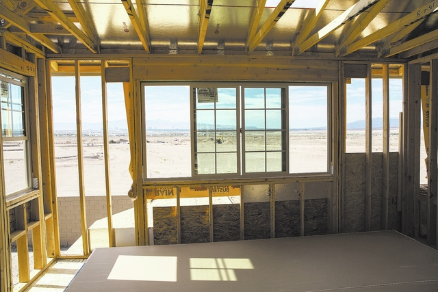 Construction at Cadence in Henderson continues as the Las Vegas housing market heats up. (Las Vegas Business Press file photo)
