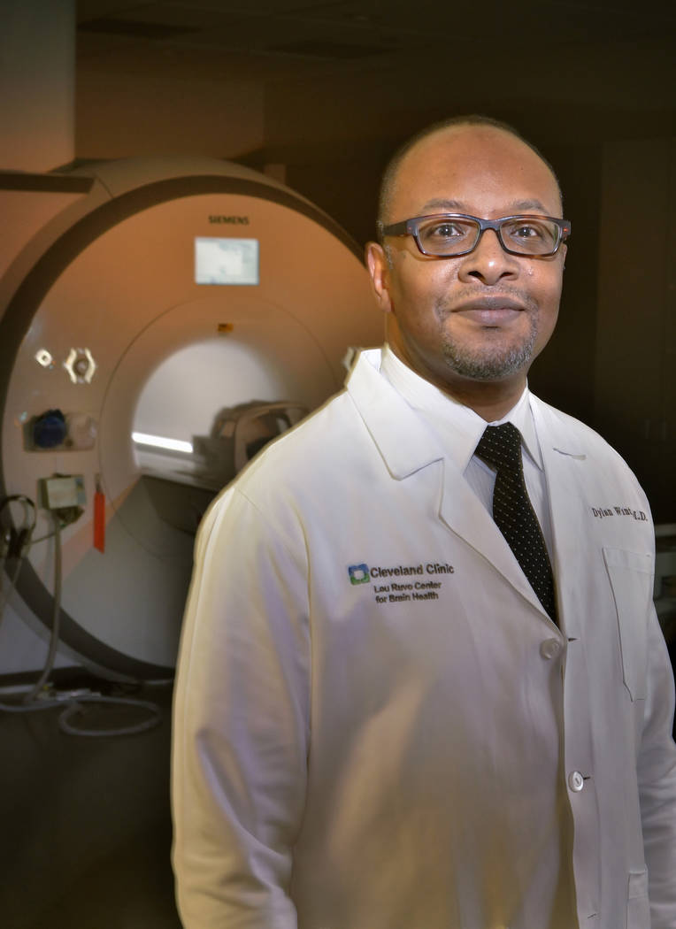 """The brain loses some volume,"" said Dr. Dylan Wint, MD, NV Energy Chair for Brain Health Education at Cleveland Clinic Lou Ruvo Center for Brain Health. (Bill Hughes Business of Medicine)"