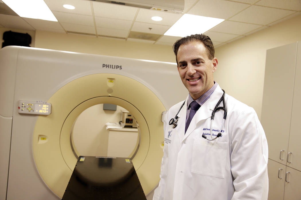 Matthew Schwartz, a radiation oncologist with Comprehensive Cancer Centers of Nevada. (Bill Hughes Business of Medicine)