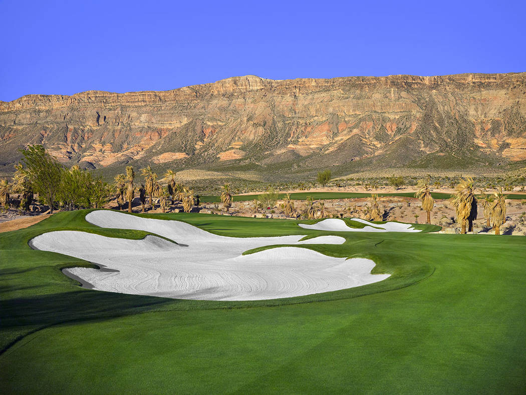 The Summit Club's championship golf course was designed by famed golf architect Tom Fazio. It was completed in October. (The Summit Club)