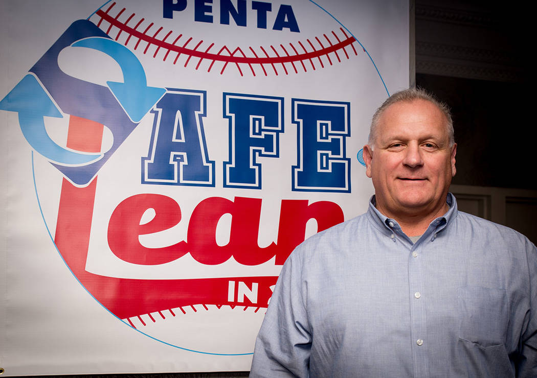 Rodd Weber, safety director, Penta Building Group. (Tonya Harvey Business Press)