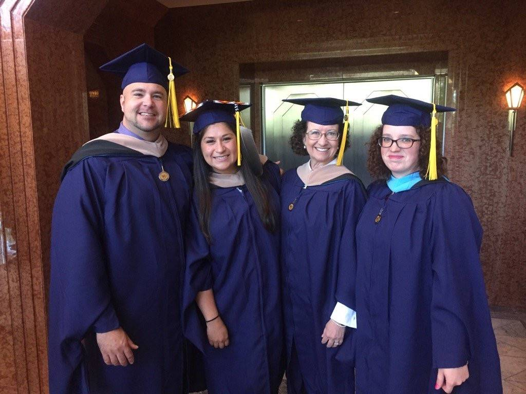 Some 215 WGU Nevada graduates received nursing degrees in the College of Health Professions.(Courtesy)