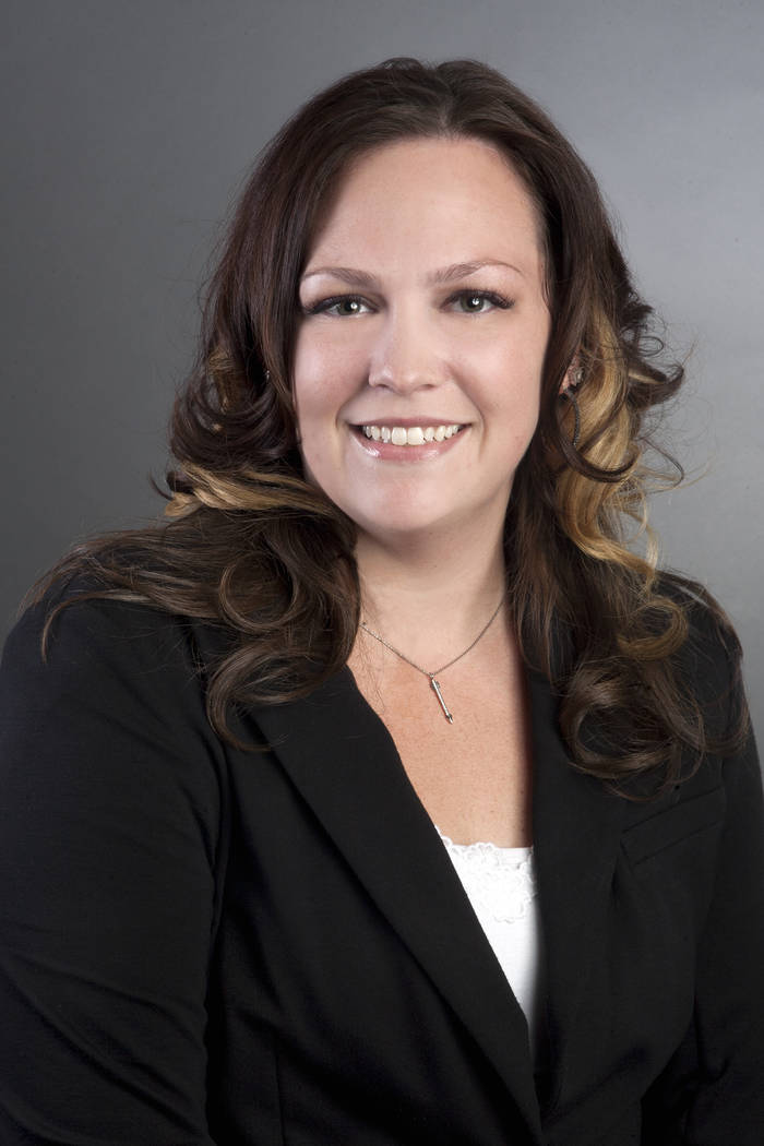 Jacquelyn Trevena, branch manager at The Lakes, Nevada State Bank