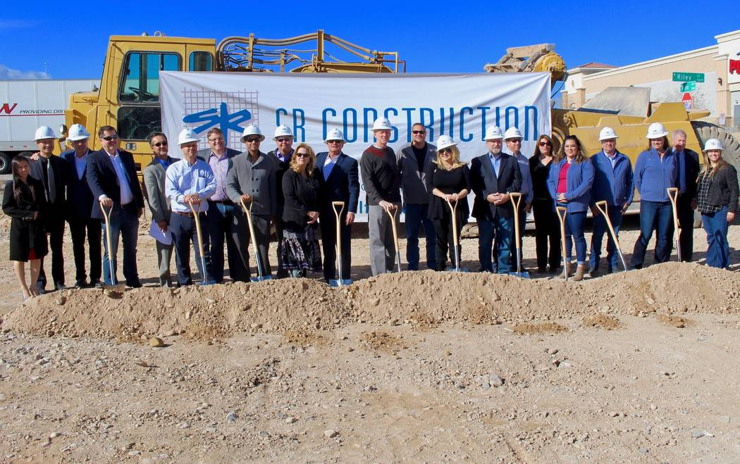 SR Construction has started construction of the Centennial Hills Skilled Nursing Facility on 8565 W. Rome Blvd.