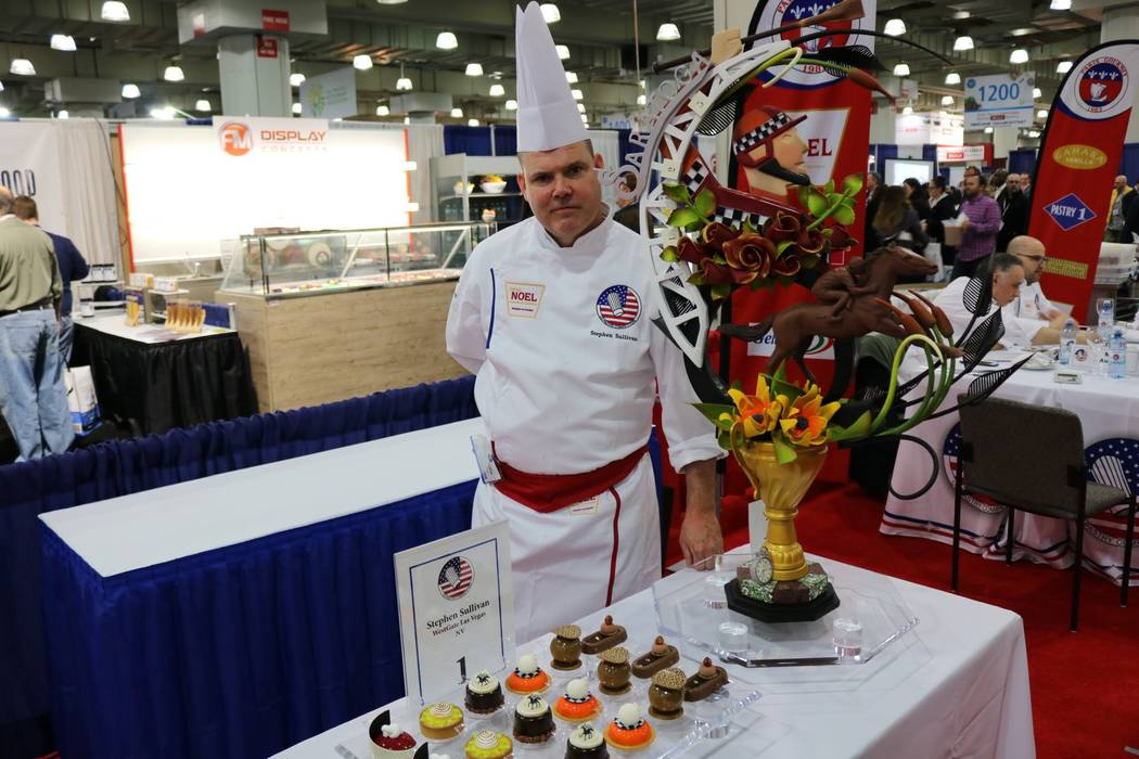 Westgate Las Vegas' executive pastry chef, Stephen Sullivan, was named Pastry Chef of the Year at the 29th annual U.S. Pastry Competition March 4.