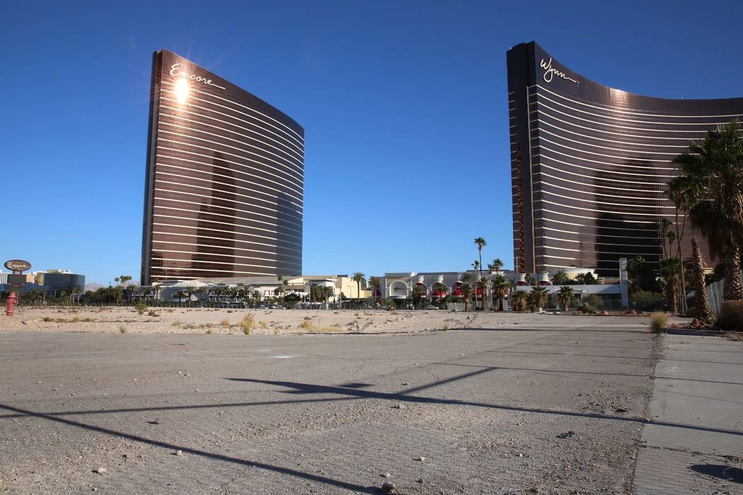 Wynn Resorts purchased land on the North Strip for $336 million. (Bizuayehu Tesfaye Las Vegas Business Press)