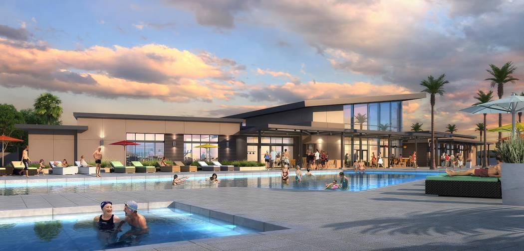 This spring, William Lyon Homes' Ovation in Mountain Falls will open in Pahrump. Prices for the age-qualified community will start at $295,000. (William Lyon Homes)
