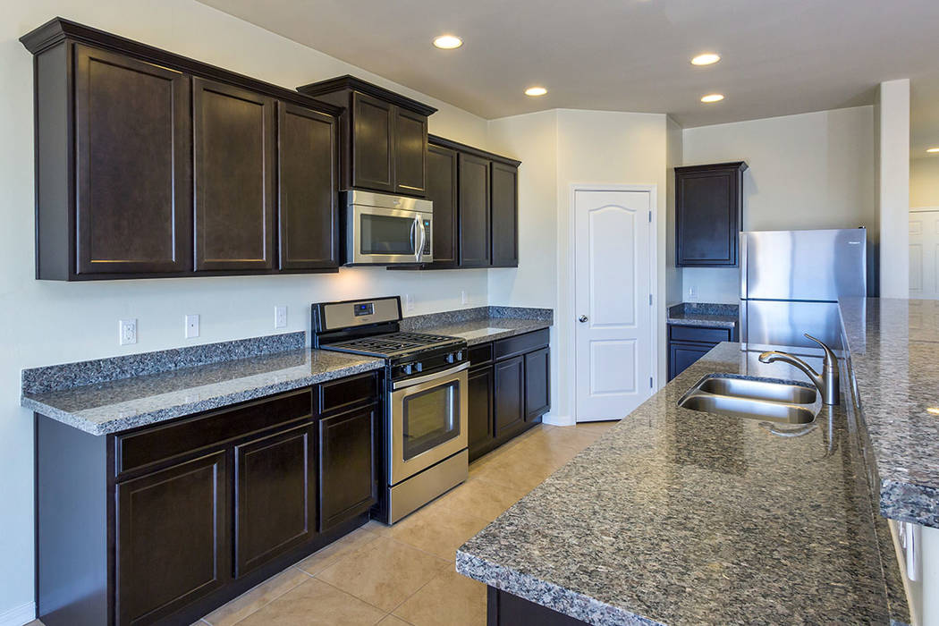 Texas-based LGI Homes will open new homes in North Las Vegas in the fall. (LGI Homes)