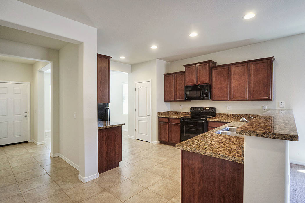 The builder keeps costs down with building efficiencies and offers no options. (LGI Homes)