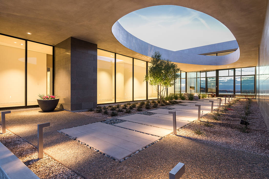 Las Vegas architect C.J. Hoogland created Cloud Chaser as one of Ascaya's inspirational homes. (Ascaya)