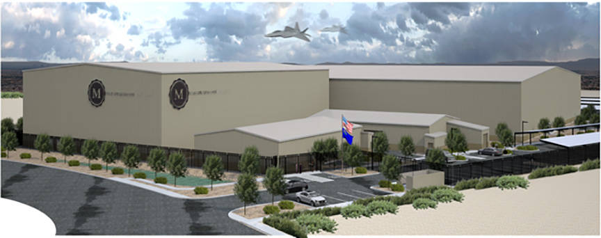 Marapharm Ventures LLC is planning a more than 300,000-square-foot cultivation center in Apex Industrial Park in North Las Vegas. (Special to the Las Vegas Business Press)