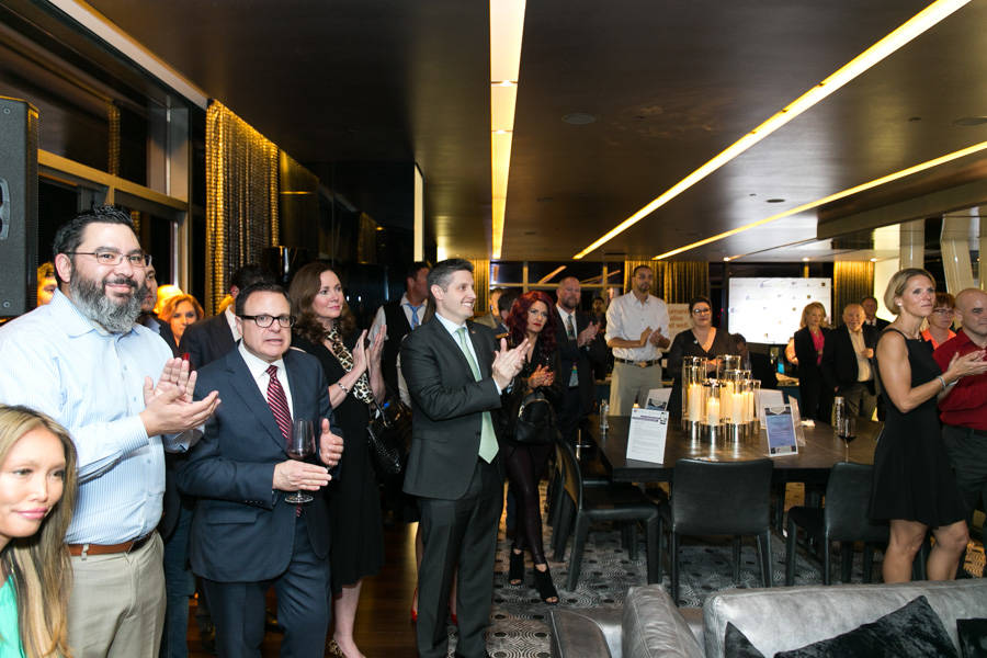 The Folded Flag Foundation raised more than $50,000 for the families of fallen veterans. It was held at The Boulevard Penthouse Suite at The Cosmopolitan of Las Vegas on March 29.