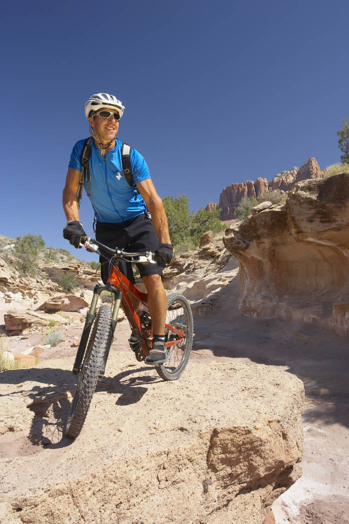 Jared Fisher, founder of Escape Adventures and Las Vegas Cyclery