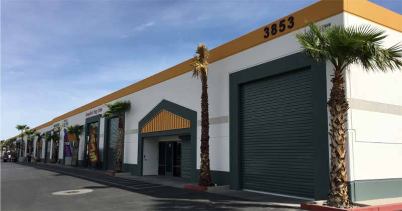 A lease to The Block Shop LLC. The 2,457-square-foot industrial property is in the Craig Business Center at 3853 E. Craig Road, Suite 7 in North Las Vegas. Mike De Lew, SIOR, and Greg Pancirov, SI ...
