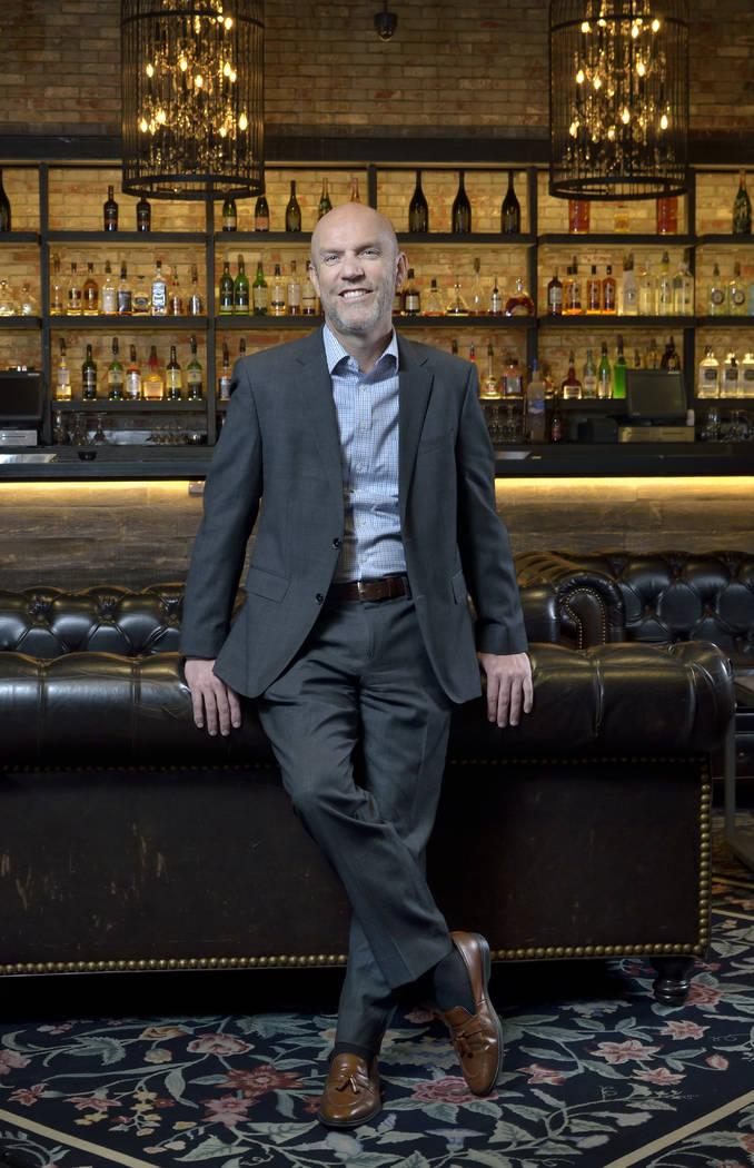 Paul Hobson, senior vice president and general manager for the SLS Las Vegas. (Bill Hughes Las Vegas Business Press)