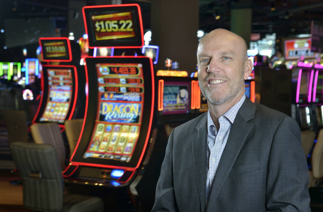 Paul Hobson, senior vice president and general manager for the SLS Las Vegas, is shown at the hotel-casino at 2535 S. Las Vegas Blvd. (Bill Hughes Las Vegas Business Press)