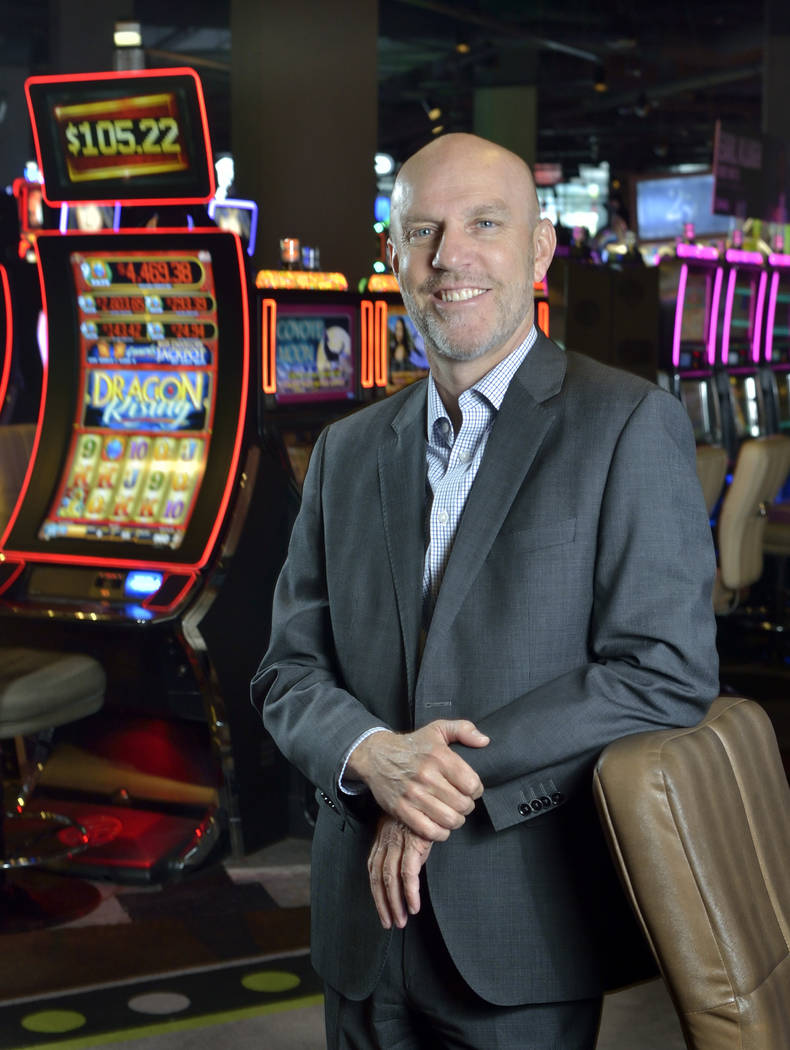 Paul Hobson, senior vice president and general manager for the SLS Las Vegas. (Bill Hughes Las Vegas Business Press)