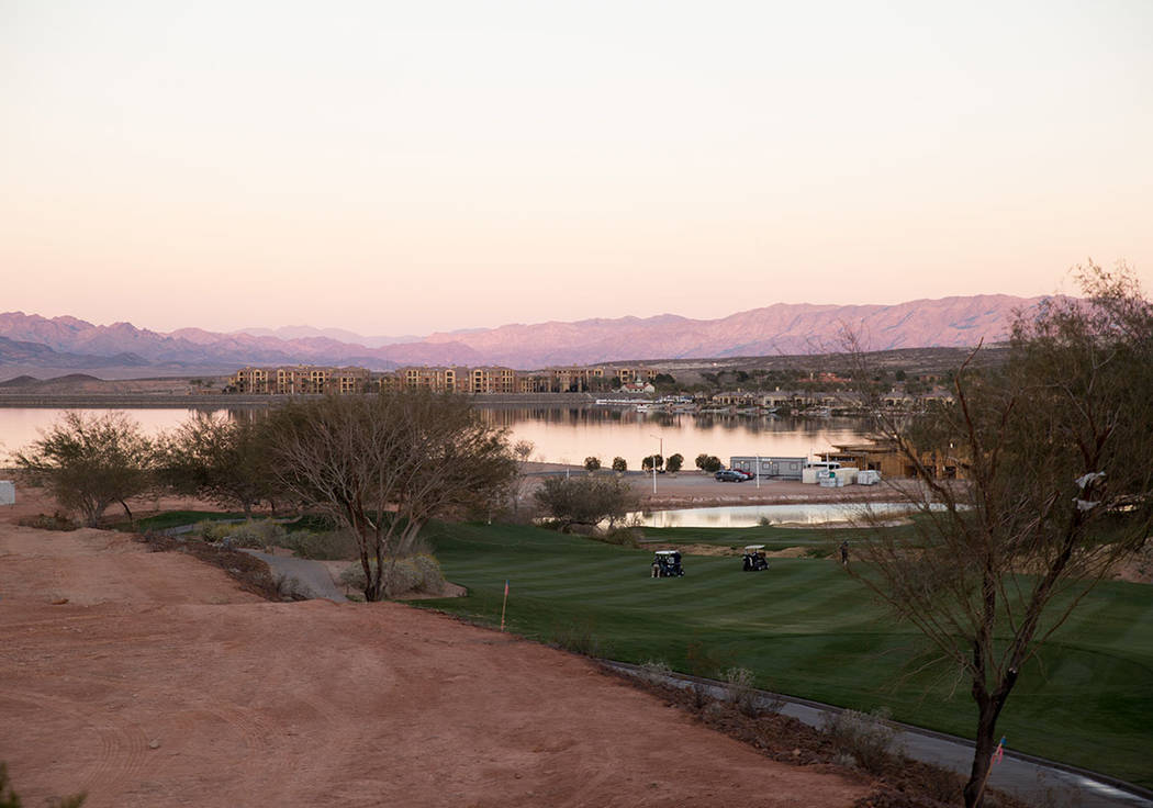 Lake Las Vegas has started to develop the South Shore. (Tonya Harvey Las Vegas Business Press)