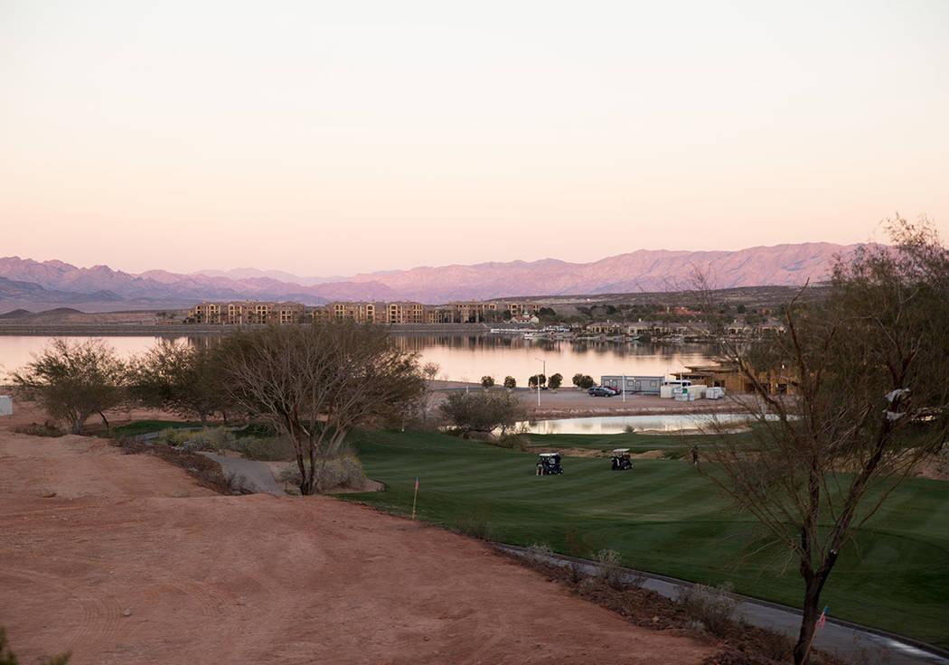 Lake Las Vegas has started to develop the South Shore. (Tonya Harvey Las Vegas Business Press)