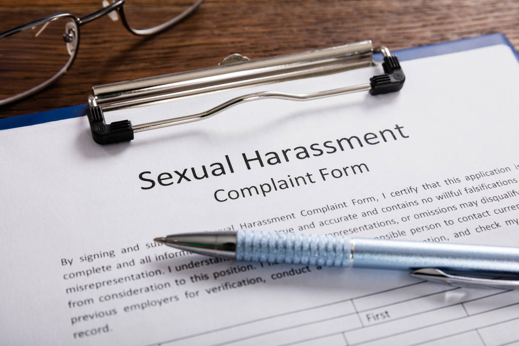 Las Vegas attorneys say they see an increase in workplace sexual harassment cases. (Thinkstock)