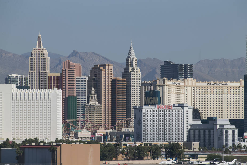 The Las Vegas Strip. (Richard Brian Las Vegas Business Press)
