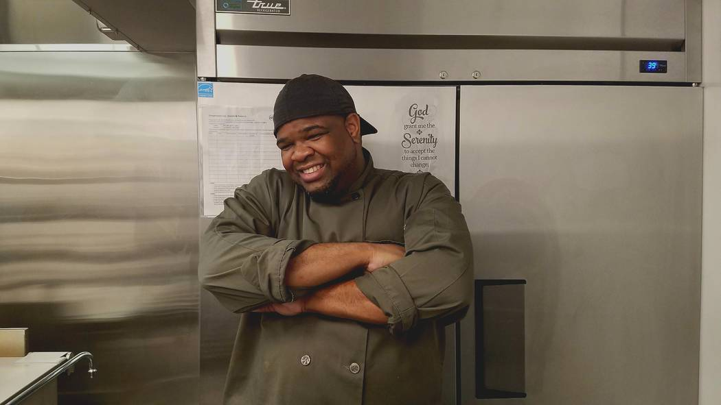 Gerald Ward, executive chef, Blind Center of Nevada's Visions of Greatness Center