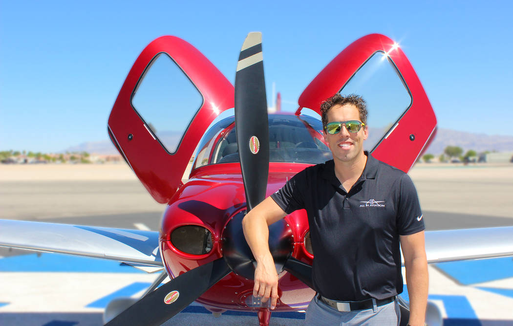 Paul Sallach, founder and president of All In Aviation